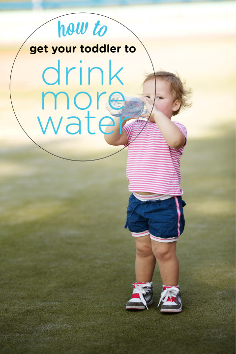 Tricks to get Your Toddler to Drink More Water