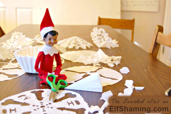 What is your elf REALLY up to while your family is sleeping? YOU DON'T WANT TO KNOW.