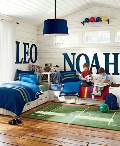 Elegant By giving each bed a Name